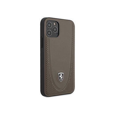 Ferrari Off Track Perforated Case for iPhone 12/12 Pro