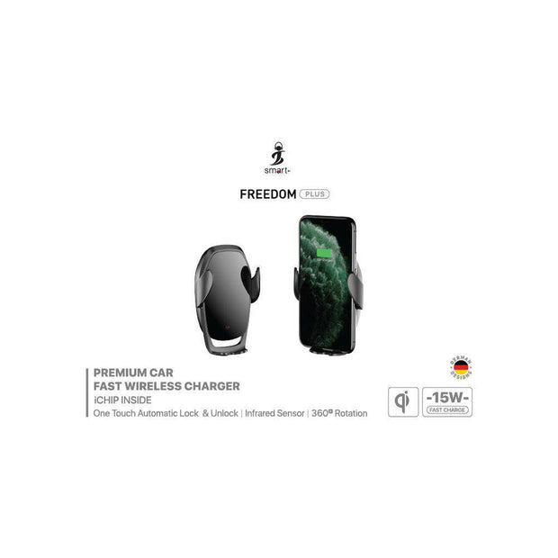Smart Freedom Plus Car Wireless Charger 15W