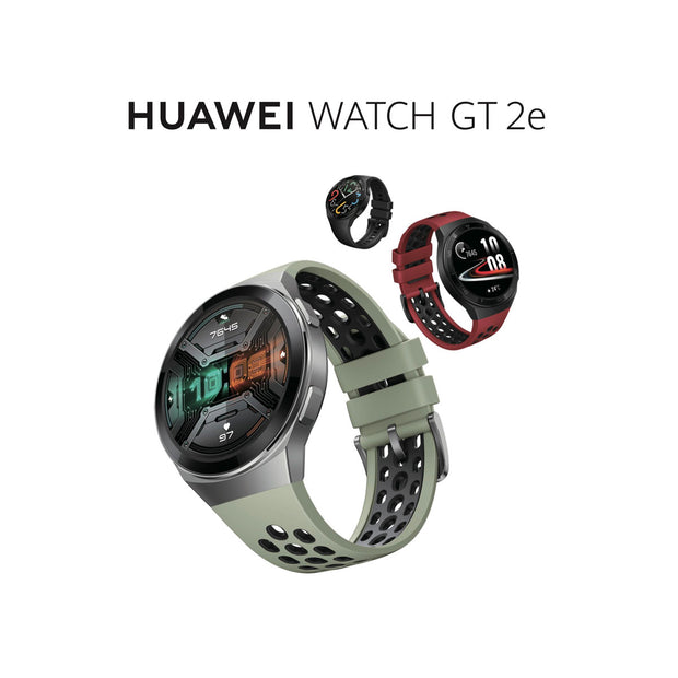 Huawei Watch GT 2e (2020) - 4GB-Accessories-Huawei-Sport Graphite Black-Starlink Qatar