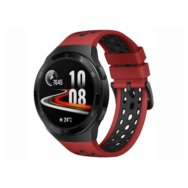 Huawei Watch GT 2e (2020) - 4GB-Accessories-Huawei-Sport Lava Red & Black-Starlink Qatar