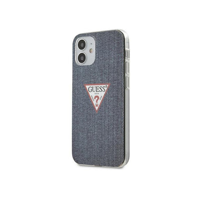 Guess PC/TPU Denim Print Case for iPhone 12 Mini