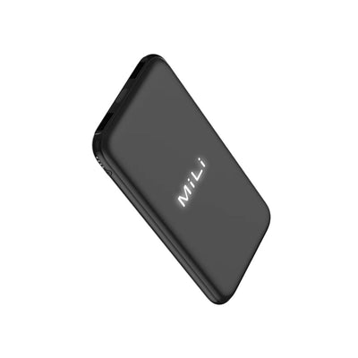 MiLi Power Dove 10000 mAh - HB-C30-Accessories-Mili-Black-Starlink Qatar