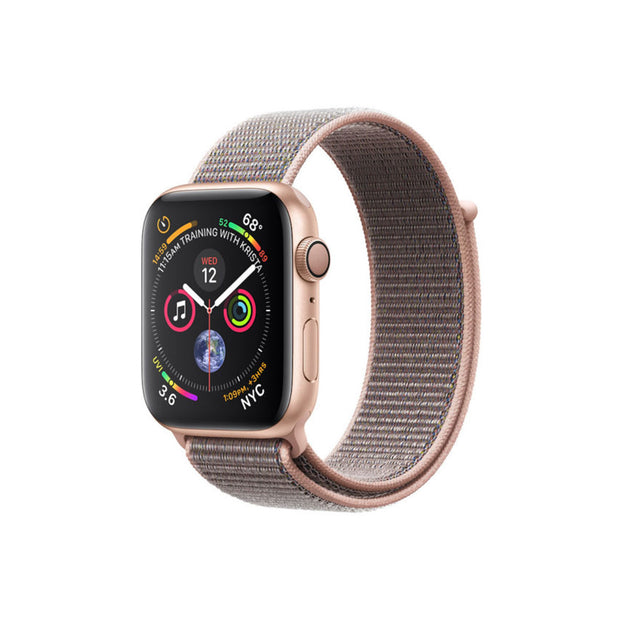 Apple Watch Series 4-Accessories-Apple-MU6G2AE/A 44mm Gold Aluminium Case with Pink Loop, GPS-Starlink Qatar