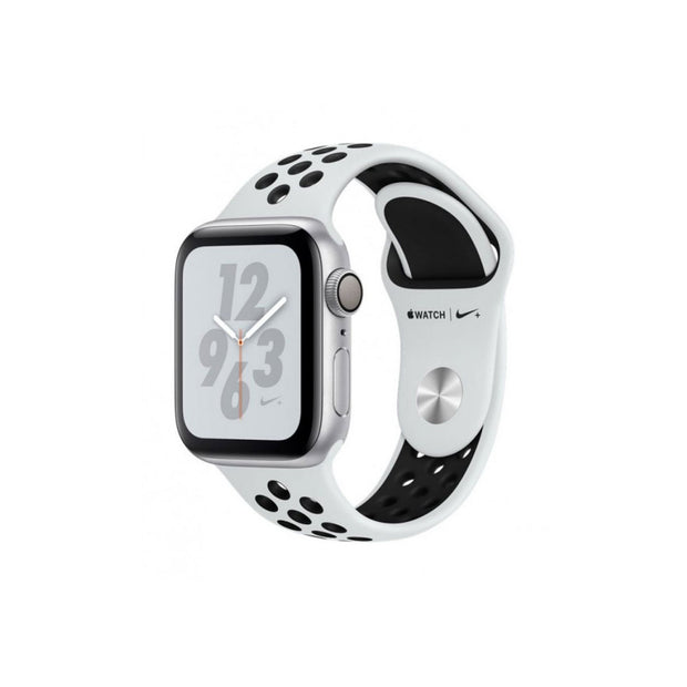 Apple Watch Series 4-Accessories-Apple-MU6H2AE/A Nike+ 40mm Silver Aluminum Case with Pure Platinum/Black, GPS-Starlink Qatar