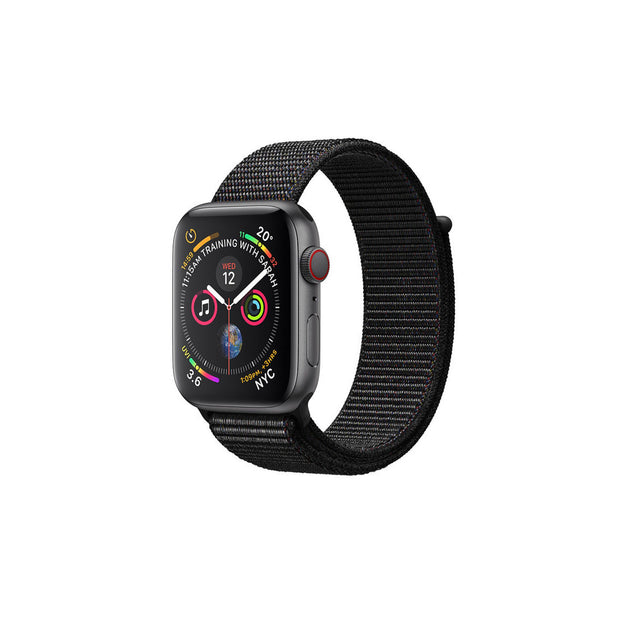 Apple Watch Series 4-Accessories-Apple-MTVF2AE/A 40mm Grey Aluminium with Black Loop, GPS + Cellular-Starlink Qatar