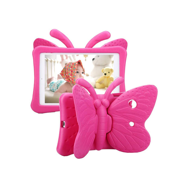 Butterfly iPad Cover iPad Pro 9.7-Accessories-Others-Hot Pink-Starlink Qatar
