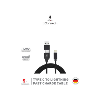 SMART - Type C to Lighting Cable-Accessories-Smart-Starlink Qatar