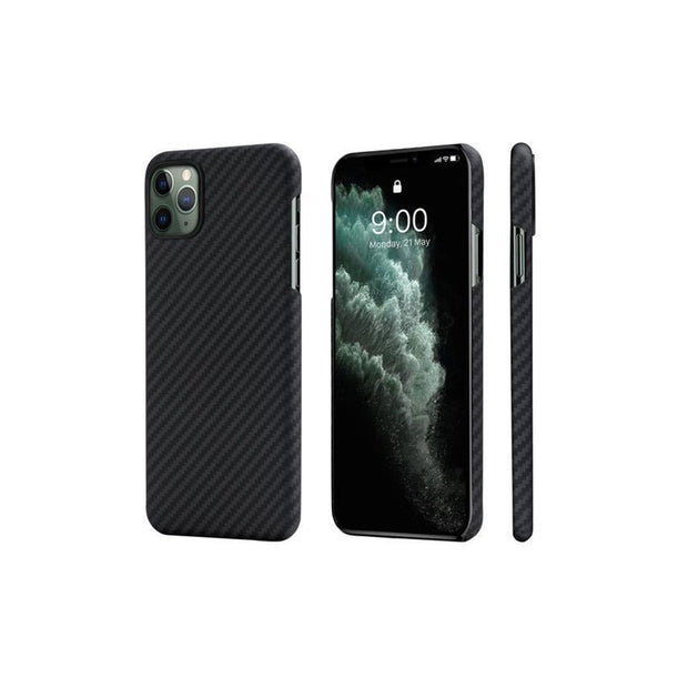 Pitaka MagCase Covers for iPhone 11 Series-Accessories-Others-iPhone 11 Pro-Black/Grey-Starlink Qatar