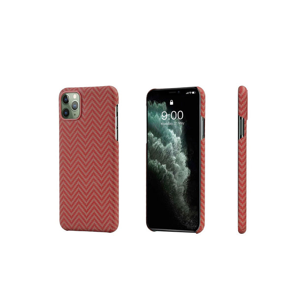 Pitaka MagCase Covers for iPhone 11 Series-Accessories-Others-iPhone 11 Pro-Red/Orange-Starlink Qatar