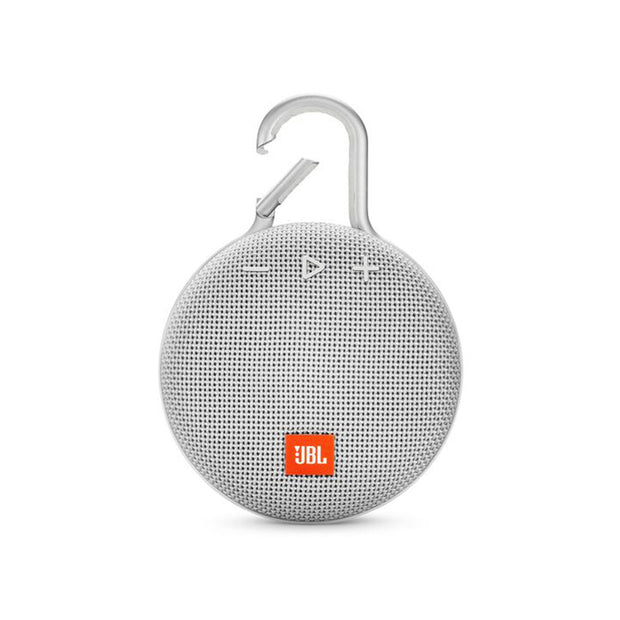 JBL Clip3 Waterproof Ultra Portable Speaker-Accessories-JBL-White-Starlink Qatar