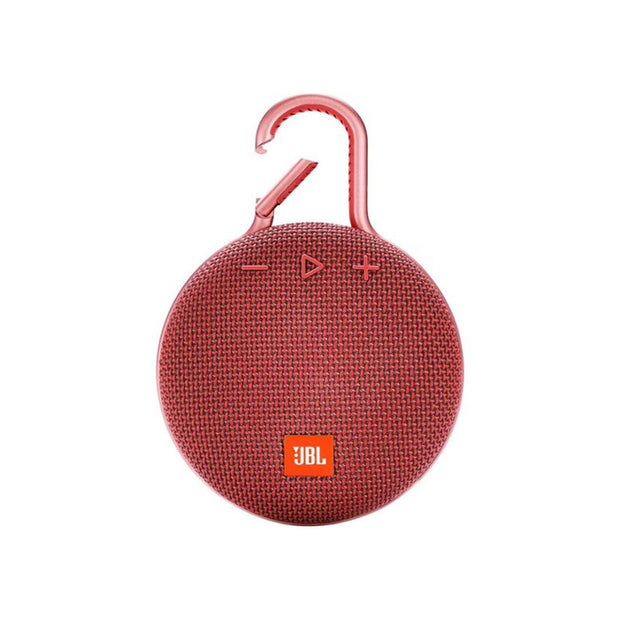 JBL Clip3 Waterproof Ultra Portable Speaker-Accessories-JBL-Red-Starlink Qatar