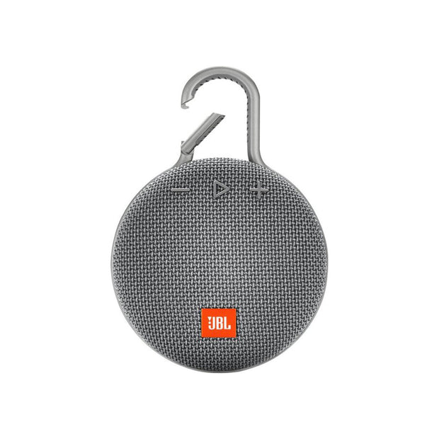 JBL Clip3 Waterproof Ultra Portable Speaker-Accessories-JBL-Grey-Starlink Qatar