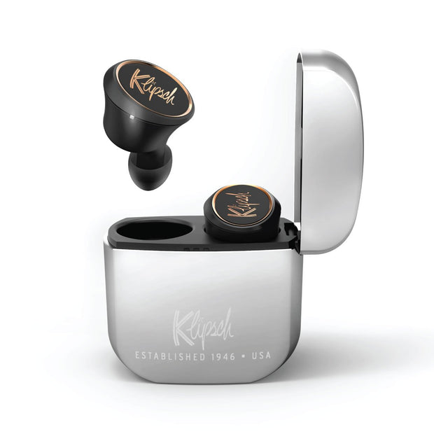 Klipsch - T5 True Wireless-Headset-Klipsch-Chrome-Starlink Qatar