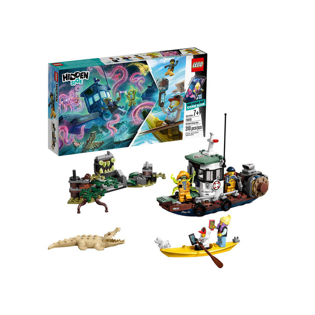 LEGO Hidden Side Wrecked Shrimp Boat 70419 Building Kit