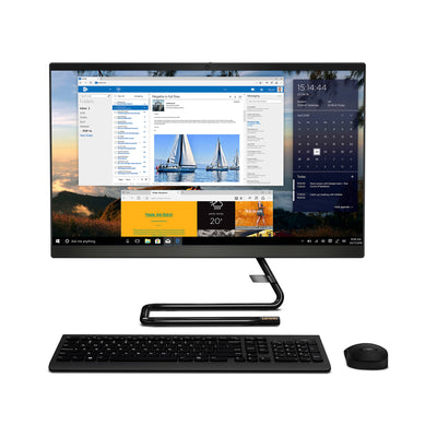 "Lenovo Idea Centre A340-22IGM (Cel-J4005, 4GB RAM, 1TB HDD, 21.5"" FHD Display, Win10 Home, Black, F0EA003GAX)"