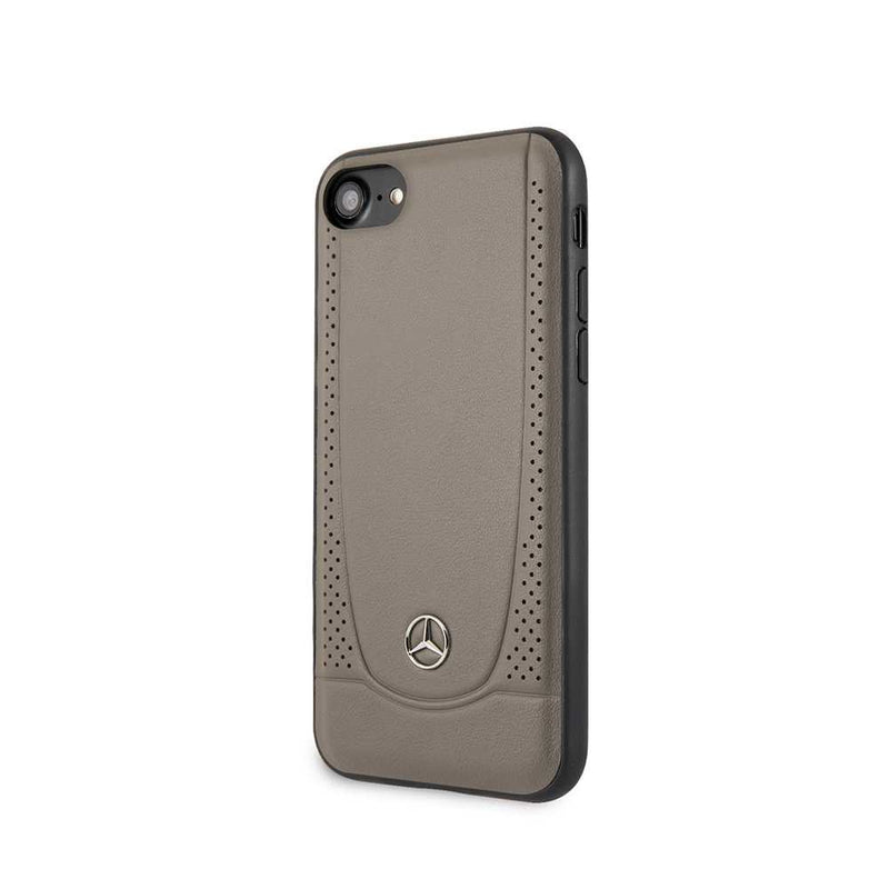 Mercedes Benz - Leather case for iPhone 7/8/SE2-Accessories-Mercedes Benz-Black-Starlink Qatar