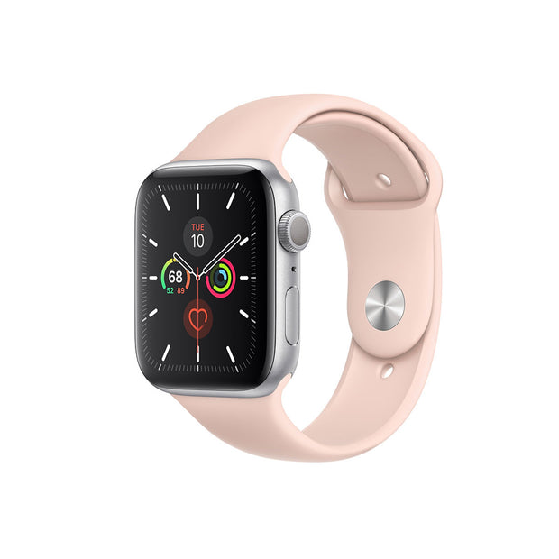 Apple Watch Series 5-Accessories-Apple-MWX62AE/A 40mm Gold Stainless Steel Case with Stone Sport Band, GPS + Cellular-Starlink Qatar