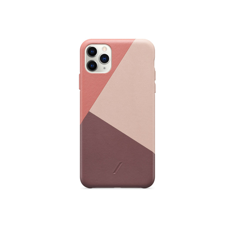 Native Union CLIC Marquetry Leather Case for iPhone 11 Pro Max