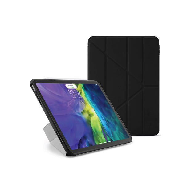 Pipetto iPad Pro 12.9 Origami Case (3rd and 4th Gen) - Black