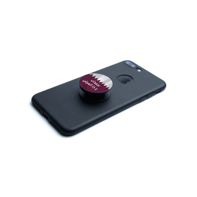 Starlink Mobile Pop Socket Qatar National Day Slogan 2020