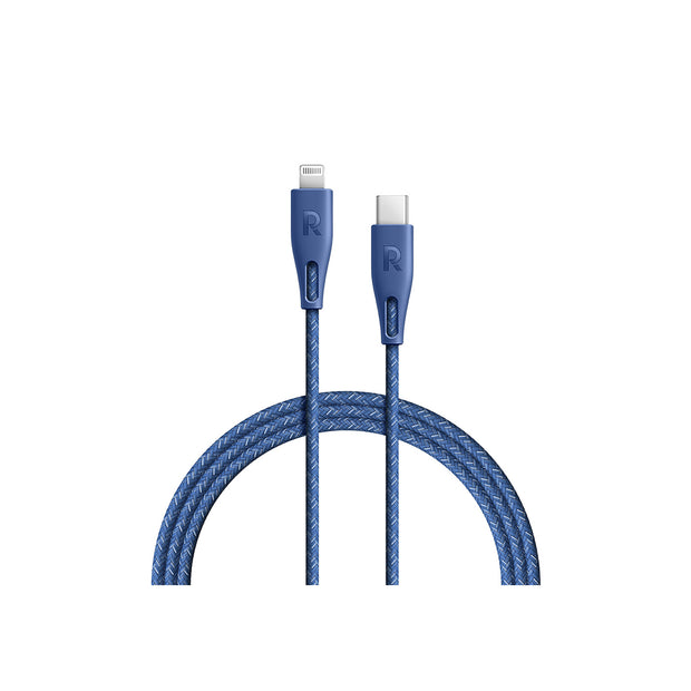 RAVPower Cable Nylon 0.3m Type-C to Lightning