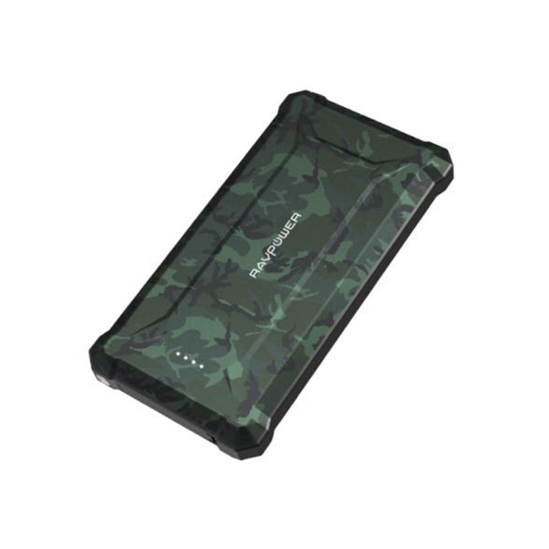 RAVPower 10050mAh PD18W+QC3.0 Waterproof Power Bank-Accessories-RAVPower-Camouflage-Starlink Qatar