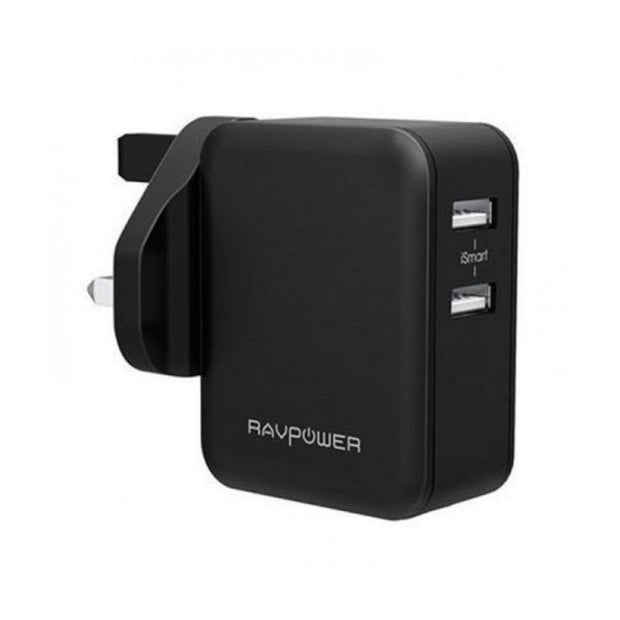 RAVPower 24W Dual Port Wall Charger (UK)