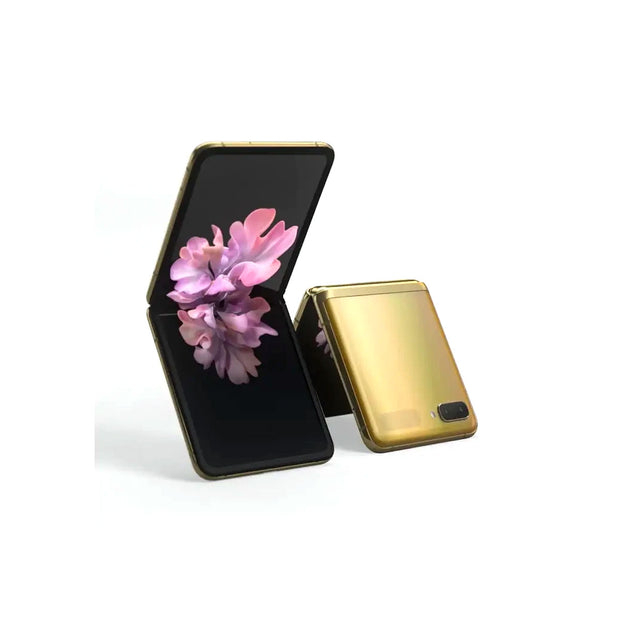 Samsung Galaxy Z Flip-Device-Samsung-Mirror Gold-256GB-Starlink Qatar