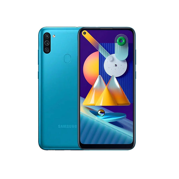 Samsung Galaxy M11-Device-Samsung-32GB-Metallic Blue-Starlink Qatar