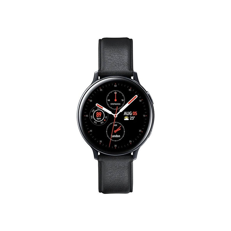Samsung Galaxy Watch Active 2 Stainless Steel-Accessories-Samsung-44mm-Stainless Steel Silver-Starlink Qatar