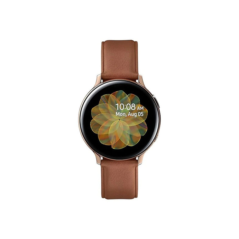 Samsung Galaxy Watch Active 2 Stainless Steel-Accessories-Samsung-44mm-Stainless Steel Gold-Starlink Qatar