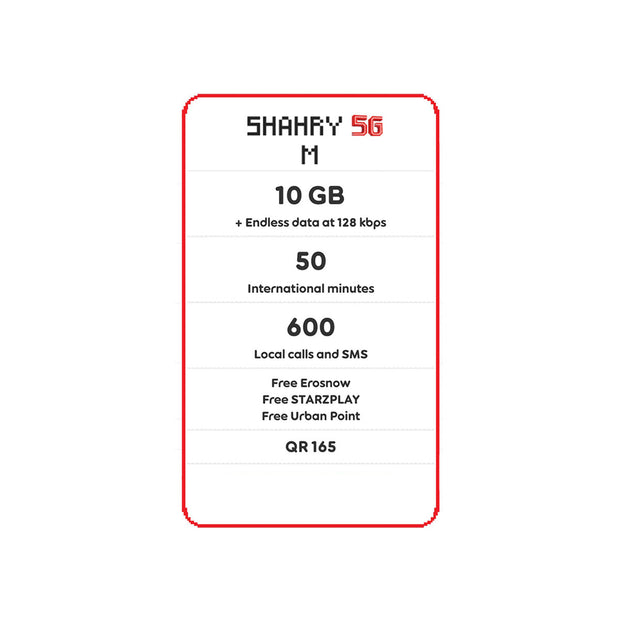 Ooredoo - Shahry 5G Packs-Services-Ooredoo-M-Starlink Qatar