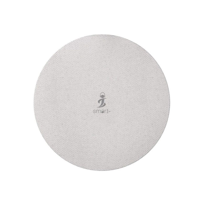 Smart AirConnect PAD+ 15W Fast Charge - Round Design-Accessories-Smart-Black-Starlink Qatar