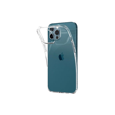 "Spigen iPhone 12/12 Pro""  Crystal Flex  -Crystal Clear"