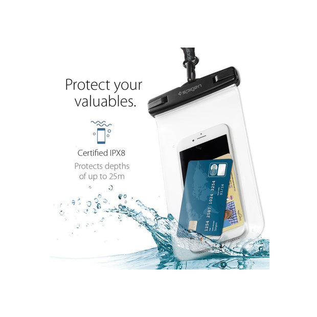 Spigen Velo A600 Universal Waterproof Phone Case (Up To 6.7-inch)