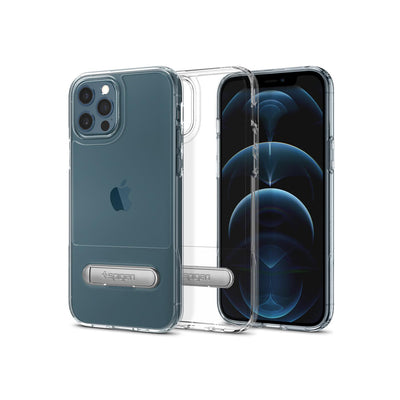 Spigen iPhone 12 Pro Max Case Slim Armor Essential - Crystal Clear