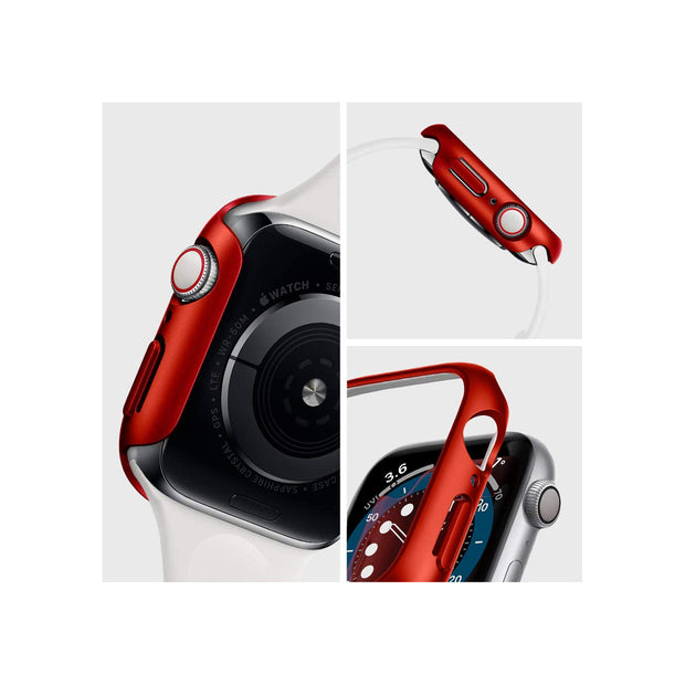 Spigen Apple Watch Series SE / 6 / 5 / 4 (44mm) Case Thin Fit - Red