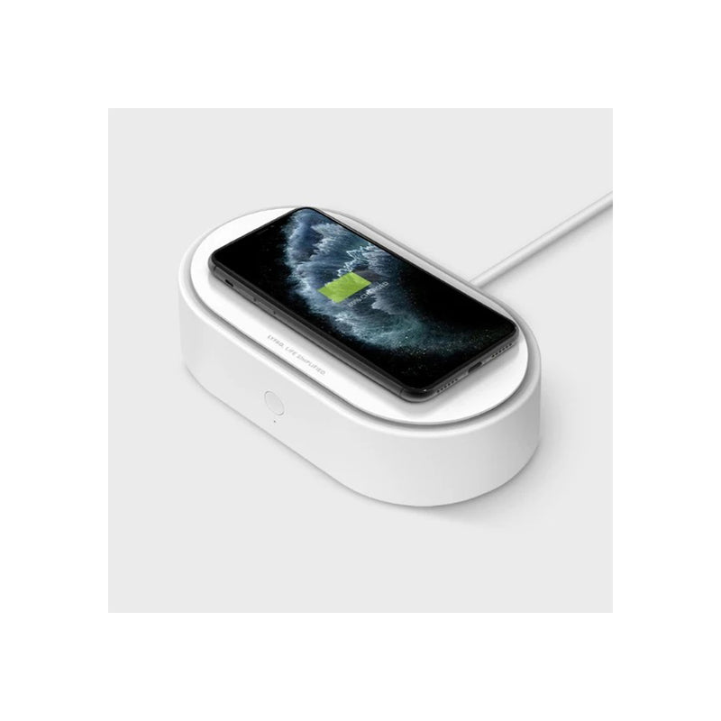 Uniq Lyfro Air Capsule UVC Disinfection Box With Fast Wireless Charging