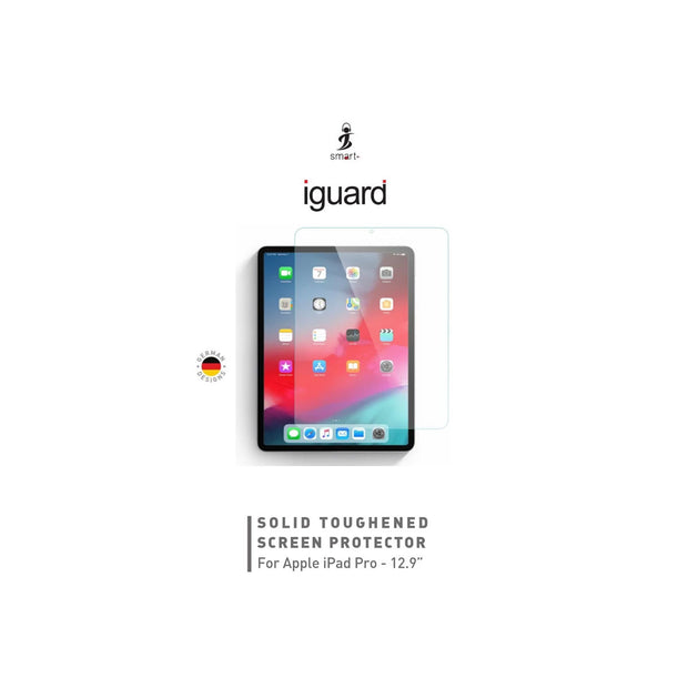 Smart iGuard iPad Pro Tempered Glass-Accessories-Smart-iPad Pro 12.9 INCH-Starlink Qatar