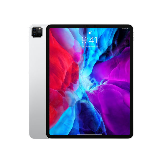 Apple iPad Pro (2020)-Tablet-Apple-Silver/ 12.9-Inch Display-128 GB-Wifi-Starlink Qatar
