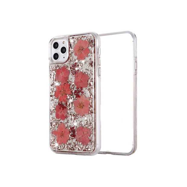 iPhone 11 Pro/Pro Max Inkomo Women Luxury Fashion Pink Flower