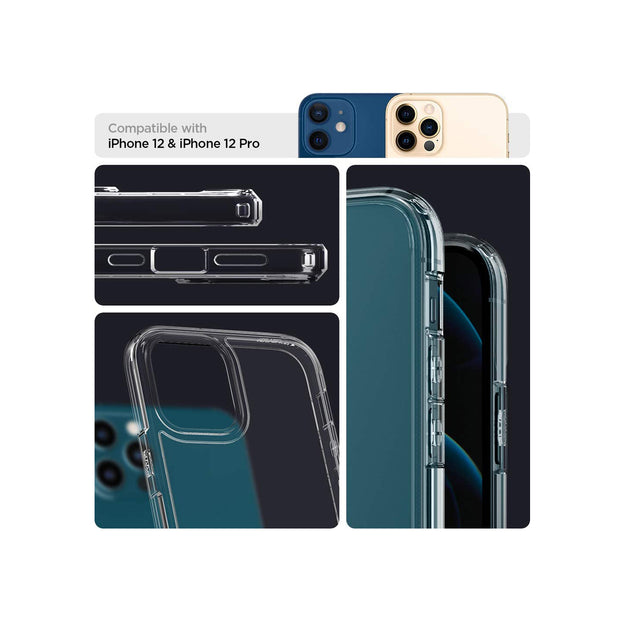 Spigen Ultra Hybrid Designed for iPhone 12/12 pro Case