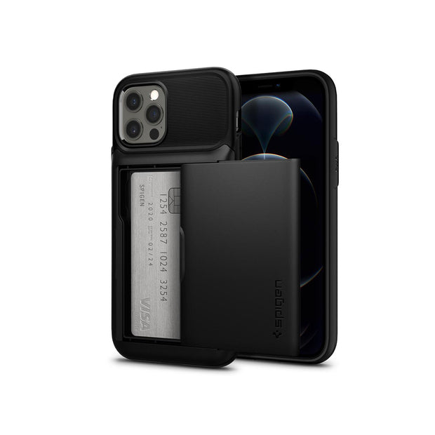 Spigen Slim Armor Wallet iPhone 12 Pro Max Case