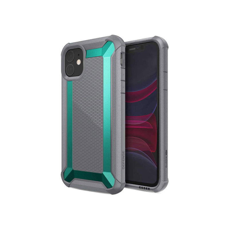 Defense Shield Covers for iPhone 11 Series-Accessories-Defense-iPhone 11 Pro-Teal-Starlink Qatar