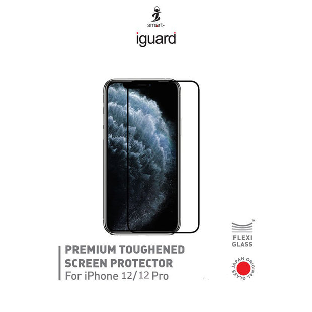 Smart Premium-Toughened Screen Protector for iPhone 12 / 12 Pro (IGI12P)