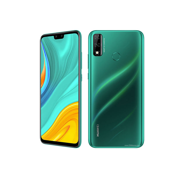 Huawei Y8s (Pre-Order) With Free Gift Huawei Sport Bluetooth Headphones Lite-Device-Huawei-Midnight Black-Starlink Qatar