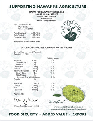 Breadfruit Flour, 8oz.