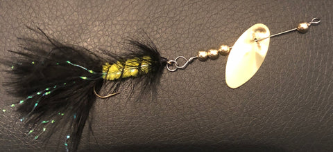 1/8 oz. Magooster with Bumblebee Fly