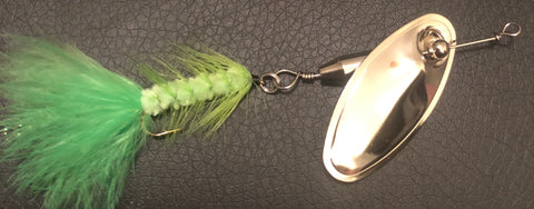 1/4 oz. Magooster with Chartreuse Fly