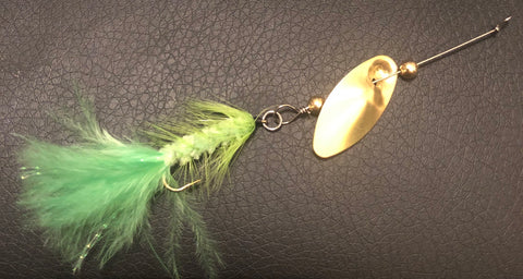 1/8 oz. Magooster with Chartreuse Fly